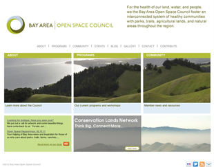 Bay Area Open Space Council website