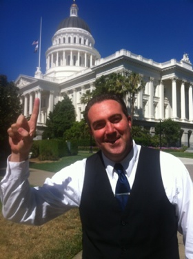Robert Hanna at the State Capitol
