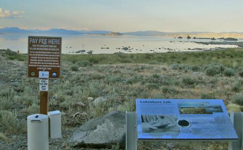 Mono Lake State Tufa Natural Reserve - Use fee collection