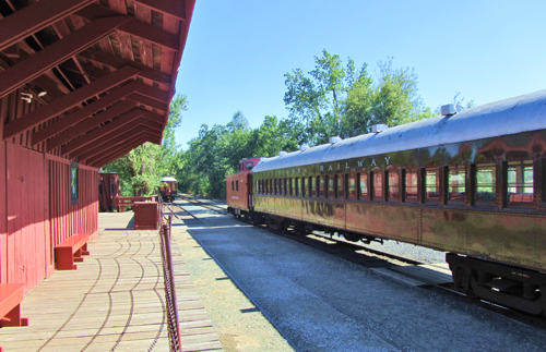 Railtown 1897 State Historic Park in Jamestown is one of 25 parks granted some time to work out a deal with California State Parks