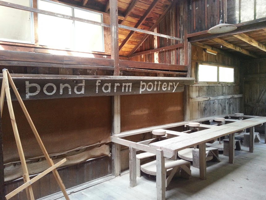 View of interior of Pond Farm barn/studio. Photograph: Anthony Veerkamp. Courtesy National Trust for Historic Preservation. Designing Home: Jews and Midcentury Modernism. On view April 24–October 6, 2014. The Contemporary Jewish Museum, San Francisco.
