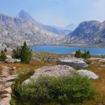 John Muir Trail 2015 - Evolution Lake, Kings Canyon National Park. Photo by Christine Sculati.