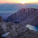 Sunrise beneath Mt. Whitney. Photo by Christine Sculati.